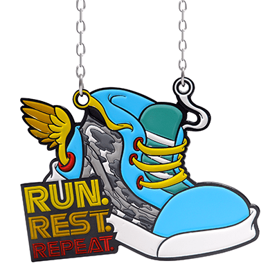 Run Rest Repeat Virtual Run